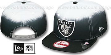 Raiders SUBLENDER SNAPBACK Black-White Hat by New Era