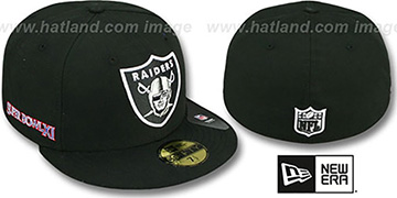 Raiders 'SUPER BOWL XI' Black Fitted Hat by New Era
