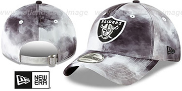 Raiders TIE-DYE STRAPBACK Hat by New Era