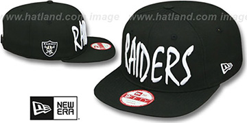 Raiders 'XL-MATISSE SOCAL SNAPBACK' Black Hat by New Era
