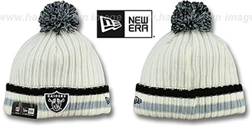 Raiders YESTER-YEAR Knit Beanie Hat by New Era