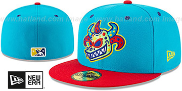 Rail Riders COPA Blue-Red Fitted Hat by New Era