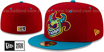 Rail Riders COPA Red-Blue Fitted Hat by New Era