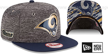 Rams '2016 NFL DRAFT SNAPBACK' Hat by New Era