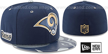 Rams '2017 SPOTLIGHT' Fitted Hat by New Era