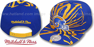 Rams 'EARTHQUAKE SNAPBACK' Royal Hat by Mitchell & Ness
