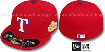 Rangers 2011 'WORLD SERIES ALTERNATE' Hat by New Era