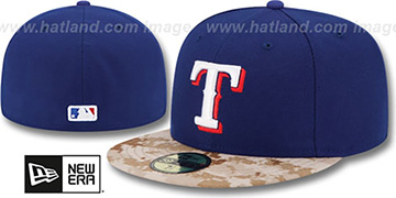 Rangers '2015 STARS N STRIPES' Fitted Hat by New Era