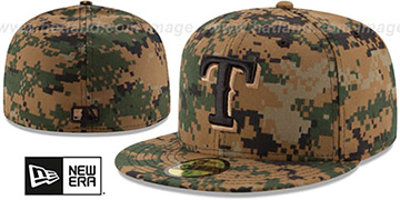 Rangers 2016 MEMORIAL DAY 'STARS N STRIPES' Hat by New Era