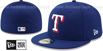 Rangers 'AC-ONFIELD GAME' Hat by New Era