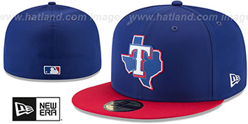 Rangers 2018 PROLIGHT-BP Royal-Red Fitted Hat by New Era
