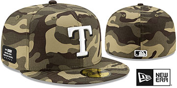 Rangers 2021 ARMED FORCES 'STARS N STRIPES' Hat by New Era