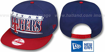 Rangers '2T STILL BREAKIN SNAPBACK' Royal-Red Hat by New Era