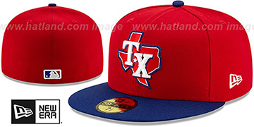 Rangers AC-ONFIELD ALTERNATE-3 Hat by New Era