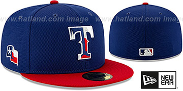 Rangers DASHMARK BP Royal-Red Fitted Hat by New Era