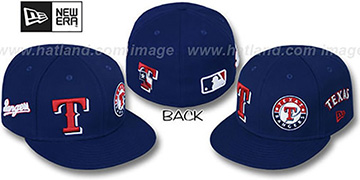 Rangers 'EVOLUTION' Fitted Hat by New Era - navy