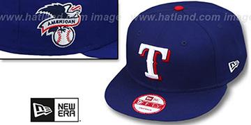 Rangers LEAGUE REPLICA GAME SNAPBACK Hat by New Era