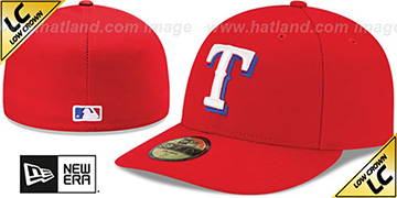 Rangers LOW-CROWN ALTERNATE Fitted Hat by New Era