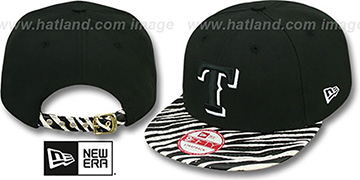 Rangers 'OSTRICH-ZEBRA STRAPBACK' Hat by New Era
