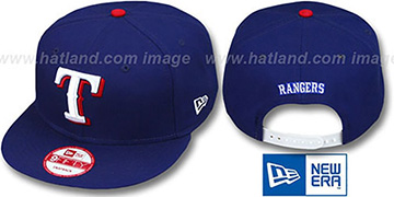Rangers REPLICA GAME SNAPBACK Hat by New Era