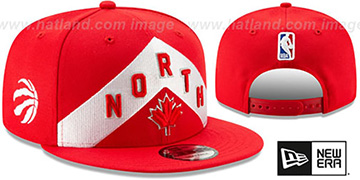 Raptors 18-19 CITY-SERIES SNAPBACK Red Hat by New Era
