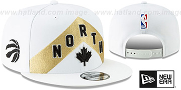 Raptors 18-19 CITY-SERIES SNAPBACK White Hat by New Era