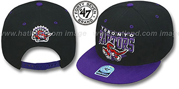 Raptors '2T HOLDEN SNAPBACK' Adjustable Hat by Twins 47 Brand