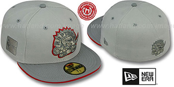 Raptors '2T HWC GREY-POP' Fitted Hat by New Era