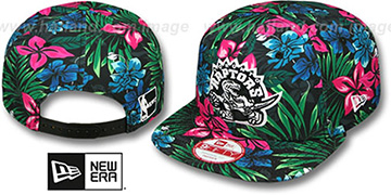 Raptors 'AMAZON BLOOM SNAPBACK' Hat by New Era