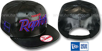 Raptors REDUX SNAPBACK Black Hat by New Era