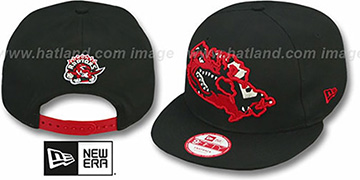 Raptors 'TEAM-INSIDER SNAPBACK' Black Hat by New Era