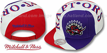 Raptors 'TWIRL SNAPBACK' Hat by Mitchell & Ness