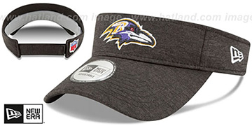 Ravens 18 NFL STADIUM Black Visor by New Era