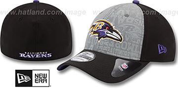 Ravens '2014 NFL DRAFT FLEX' Black Hat by New Era