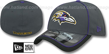 Ravens 2014 NFL STADIUM FLEX Grey Hat by New Era