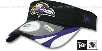 Ravens '2014 NFL TRAINING' Black Visor by New Era