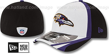 Ravens '2014 NFL TRAINING FLEX' White Hat by New Era
