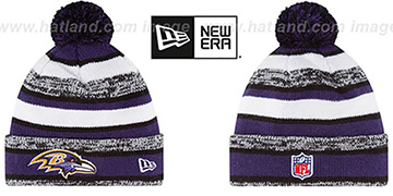 Ravens '2014 STADIUM' Knit Beanie Hat by New Era
