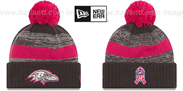 Ravens 2016 BCA STADIUM Knit Beanie Hat by New Era