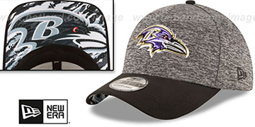 Ravens 2016 MONOCHROME NFL DRAFT FLEX Hat by New Era