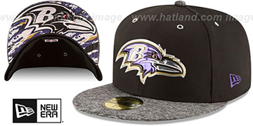 Ravens '2016 NFL DRAFT' Fitted Hat by New Era