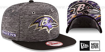 Ravens '2016 NFL DRAFT SNAPBACK' Hat by New Era