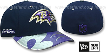 Ravens 2017 LOW-CROWN SPOTLIGHT Fitted Hat by New Era
