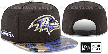 Ravens '2017 NFL ONSTAGE SNAPBACK' Hat by New Era