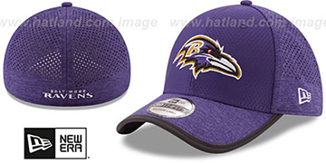 Ravens 2017 NFL TRAINING FLEX Purple Hat by New Era