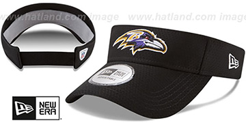Ravens 2017 NFL TRAINING VISOR Black by New Era