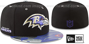Ravens '2017 SPOTLIGHT' Fitted Hat by New Era
