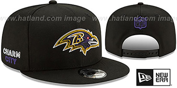 Ravens 2020 NFL VIRTUAL DRAFT SNAPBACK Black Hat by New Era
