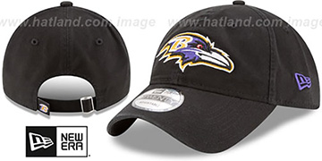 Ravens CORE-CLASSIC STRAPBACK Black Hat by New Era