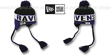 Ravens CRAYON BOX Knit Beanie Hat by New Era